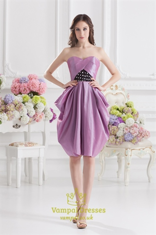Short Light Purple Prom Dresses,Light Purple Homecoming ...