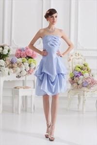 Short Lavender Bridesmaid Dresses,Lavender Party Homecoming Dresses