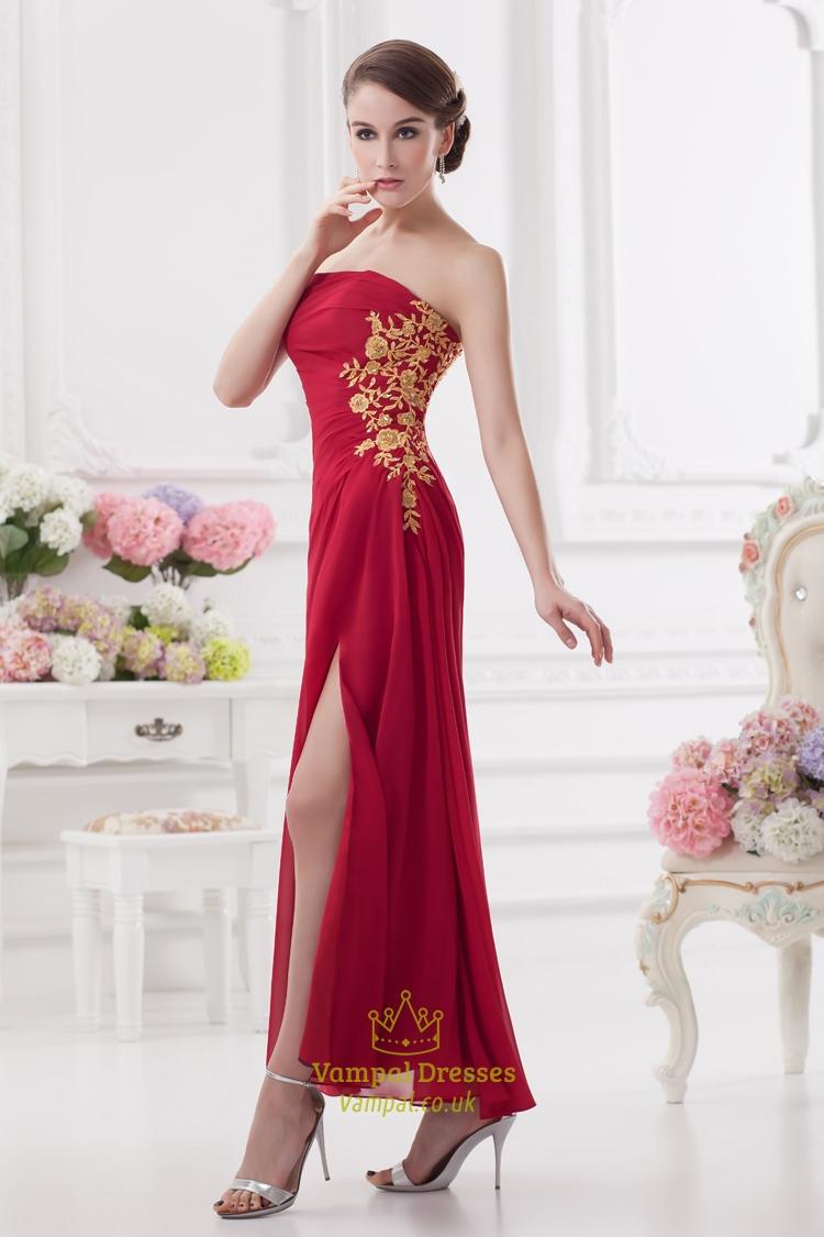 Prom Dresses With Slits Uk 99