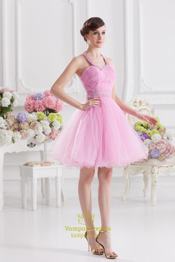 Fluffy Short Prom Dresses - Long Dresses Online