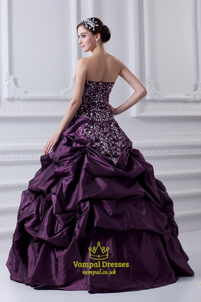 Quinceanera Dresses Purple And White,Pueple Quinceanera Dresses With Corset