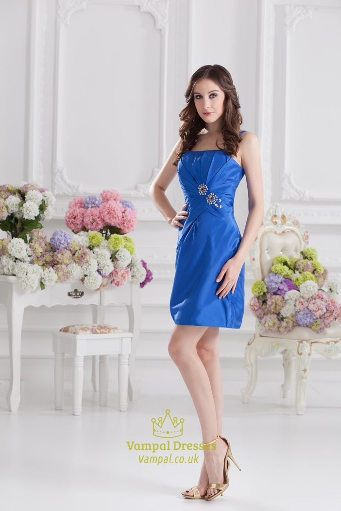 Cobalt Blue Short Prom Dresses Cobalt Blue Dresses With