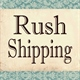 Rush Delivery Fee