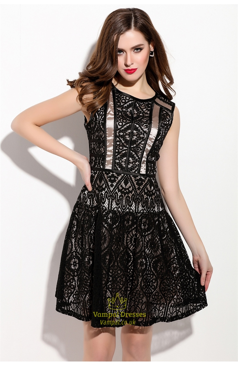Shop black sleeveless dress at bloggeri.tk Free Shipping and Free Returns for Loyallists or Any Order Over $!