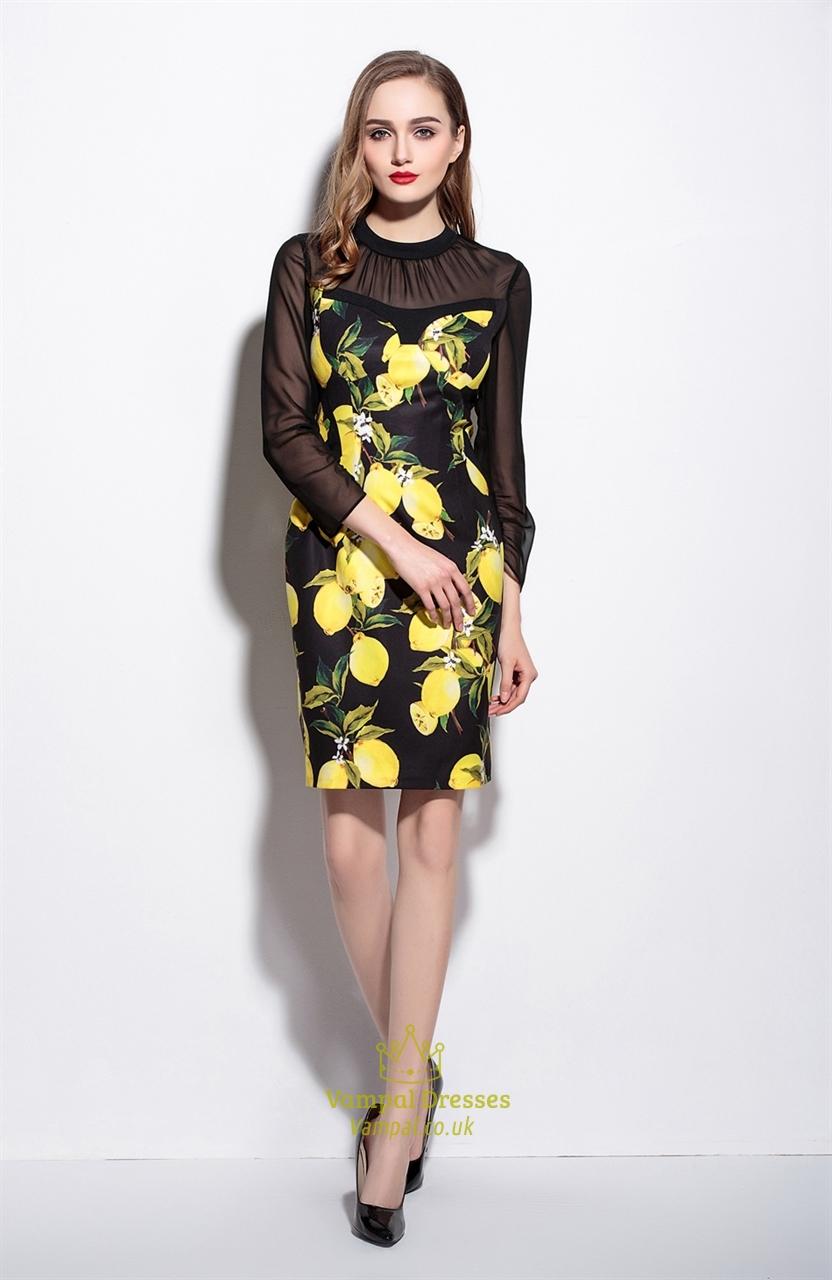 Sheer Cocktail Dresses