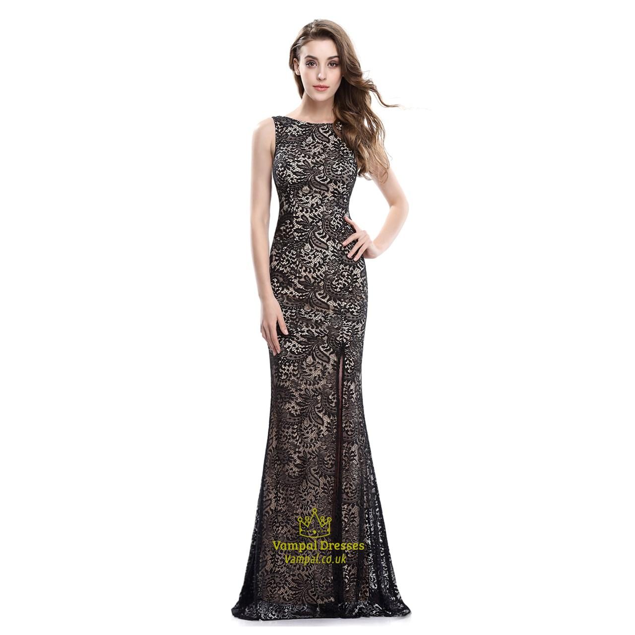 Black Champagne Dress