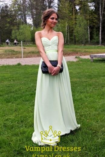 Strapless Empire Waist Maxi Dress Vampal Dresses