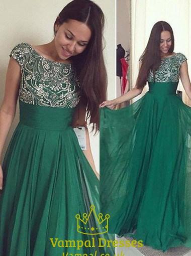 Empire Waist Chiffon Maxi Dress Vampal Dresses
