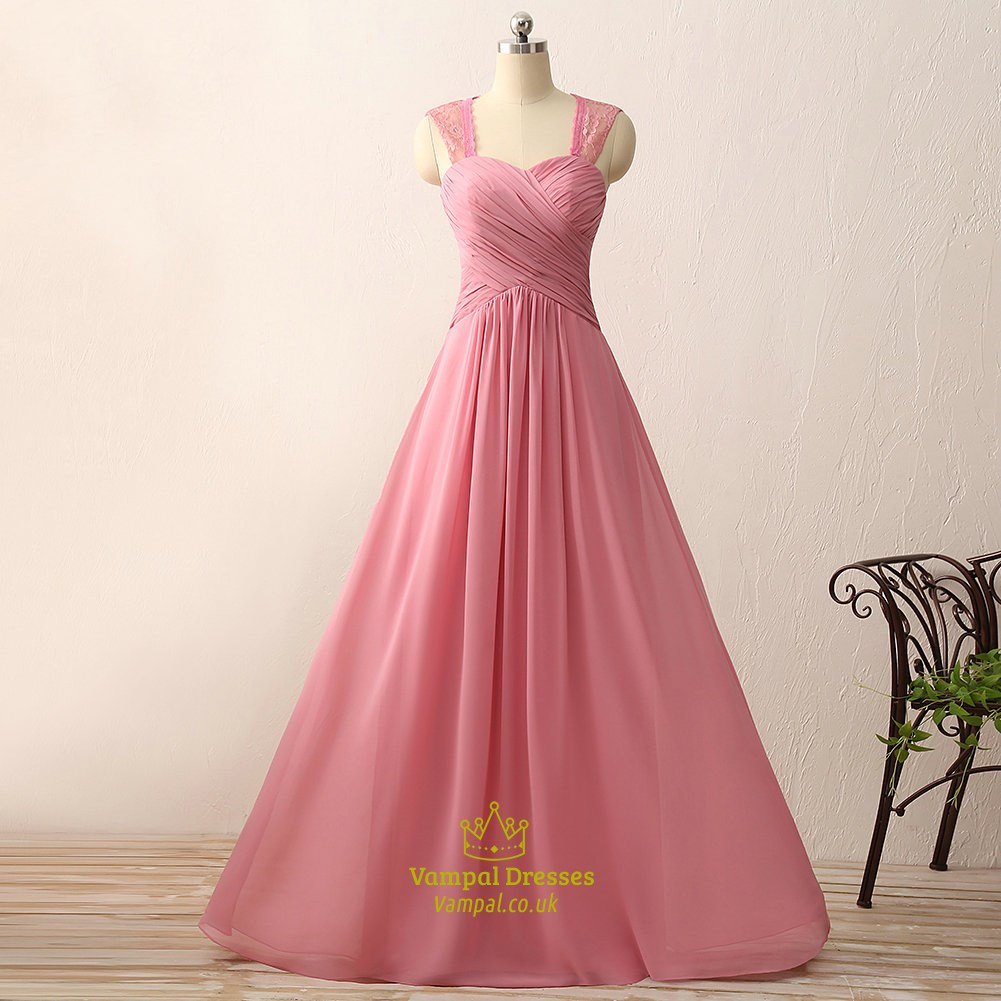 Sweetheart neckline ruched bodice a line chiffon gown with for Sweetheart neckline ruched bodice wedding dress