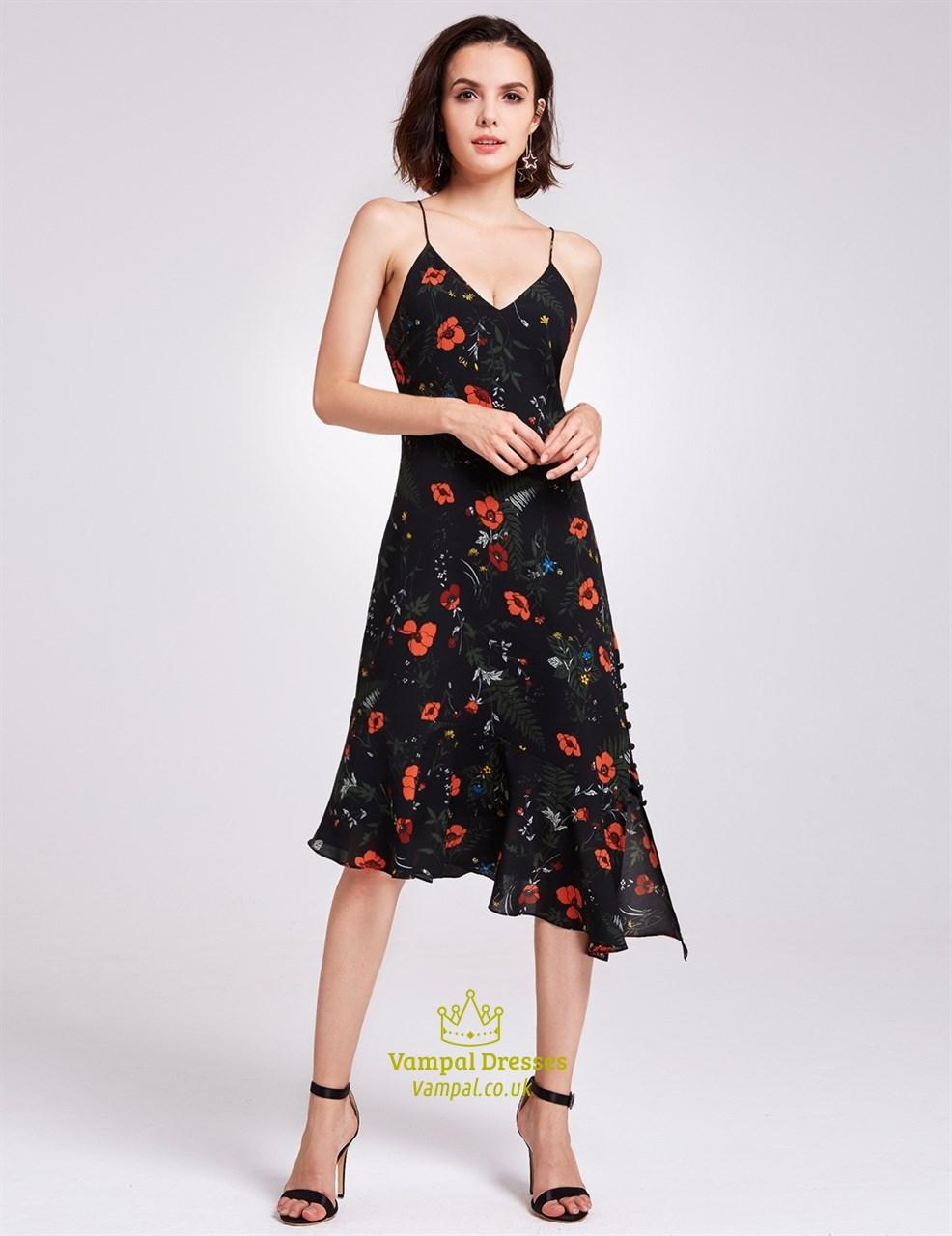 Asymmetrical a Line Dresses