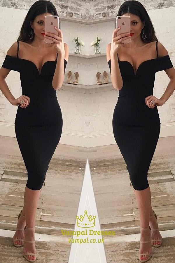 Sleeveless Bodycon Little Black Dress Vampal Dresses