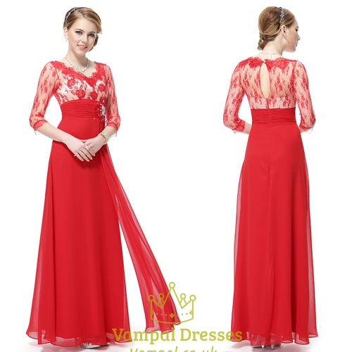 Red Mother Of The Groom Dresses With Jacket-Mother Of The Bride ...