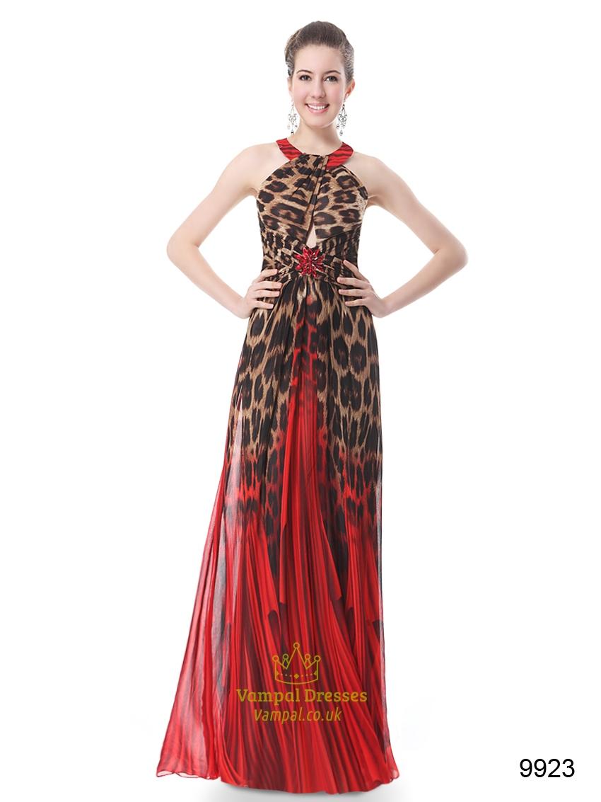 Leopard print bridesmaid dresses uk flower girl dresses for Zebra print wedding dress