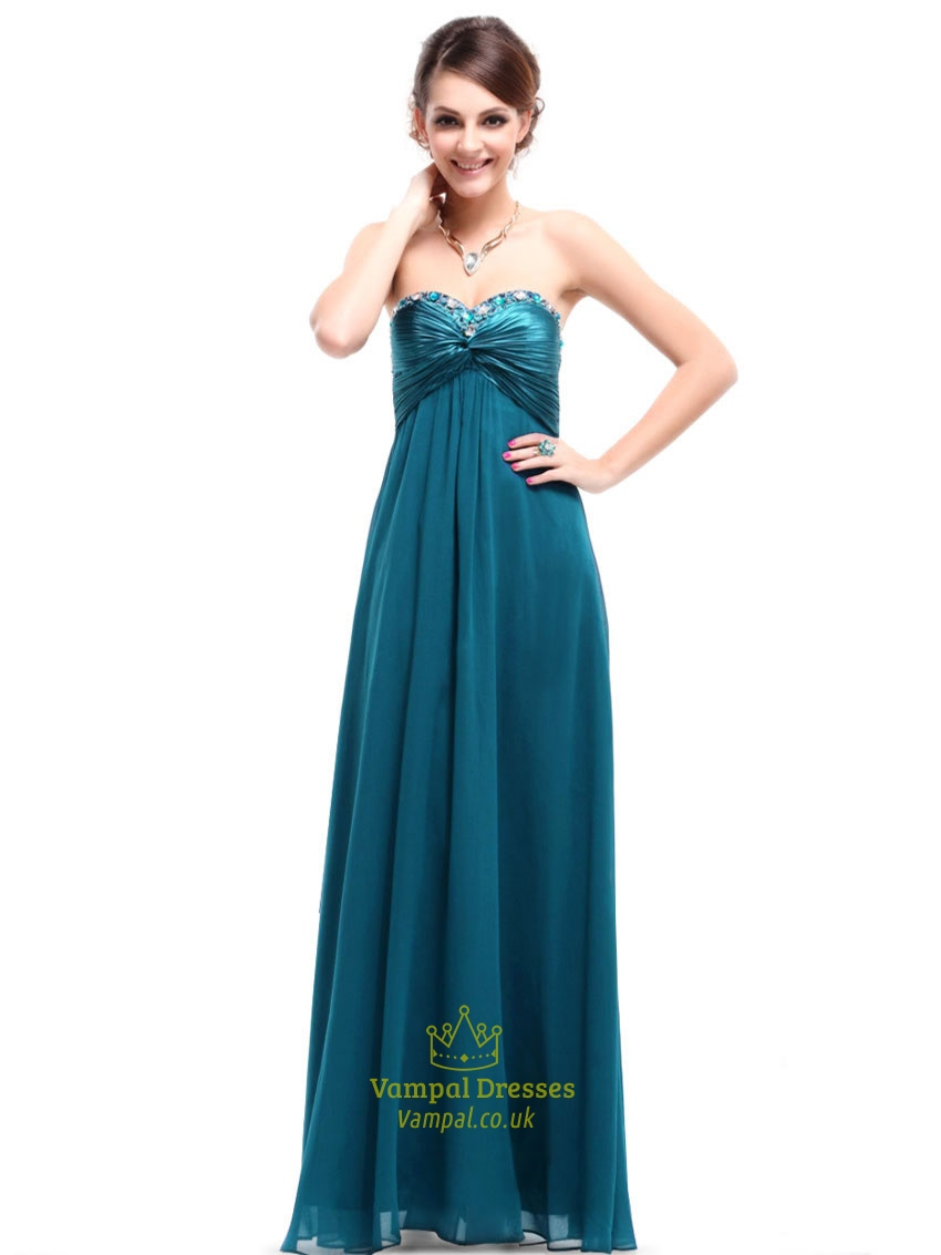 Teal Bridesmaid Dresses Beach Wedding Long,Teal Dresses For Prom ...