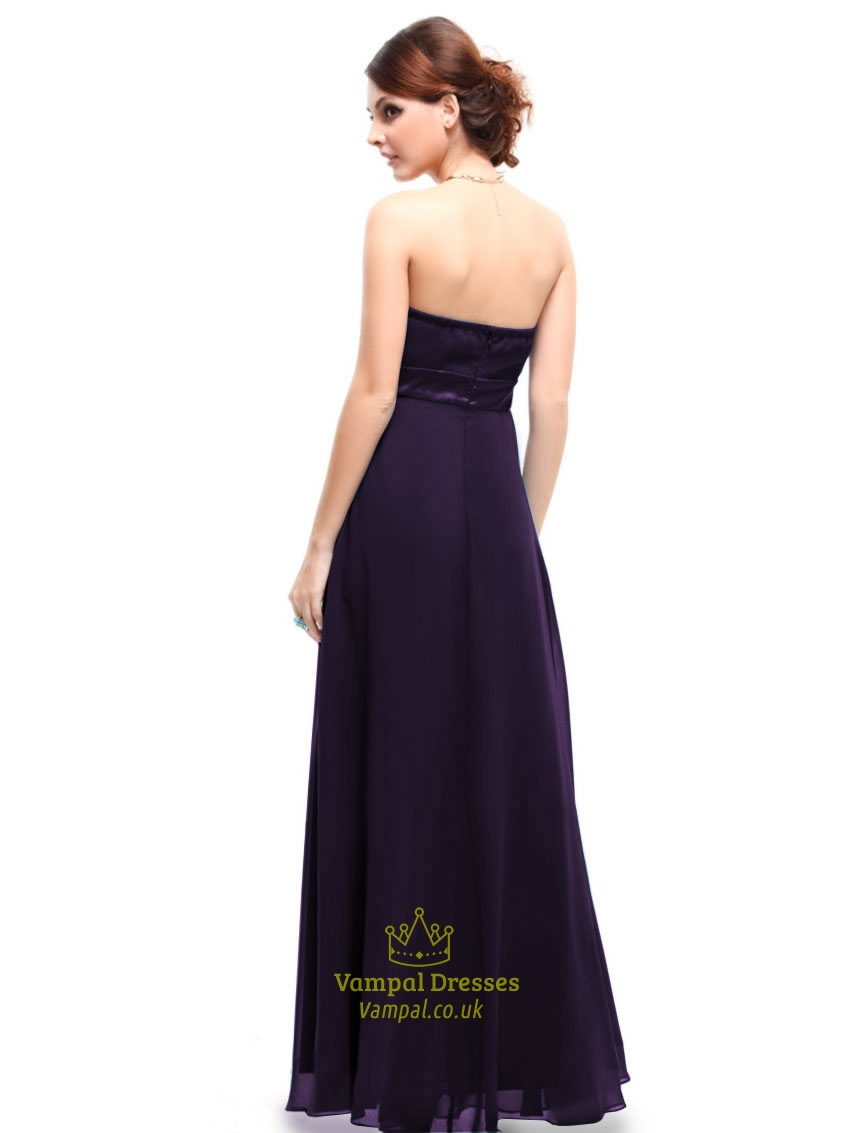 Dark purple bridesmaid dresses strapless longdark purple dresses dark purple bridesmaid dresses strapless longdark purple dresses for weddings ombrellifo Image collections