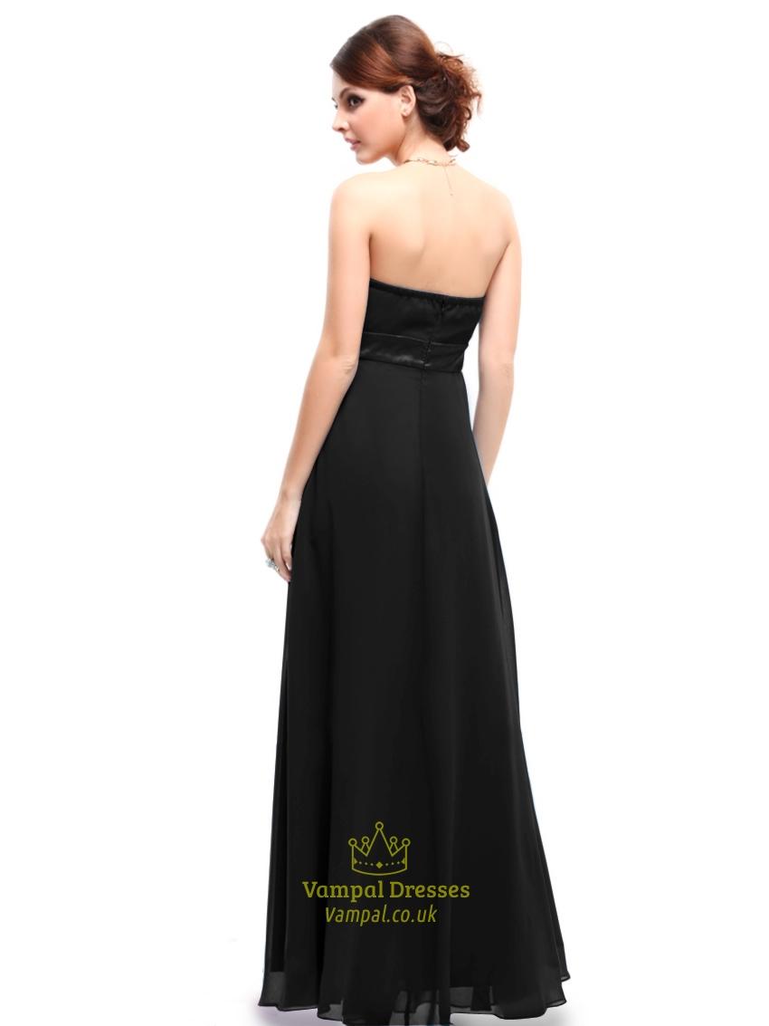 e72557478f Long Strapless Bridesmaid Dress - Gomes Weine AG