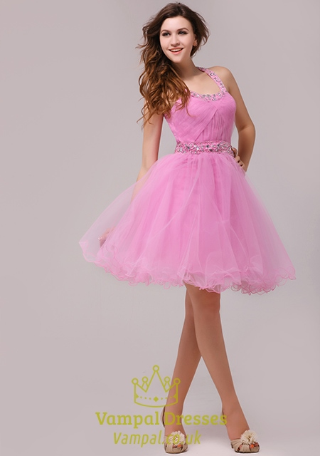 Pink Cocktail Dresses For Juniors 9
