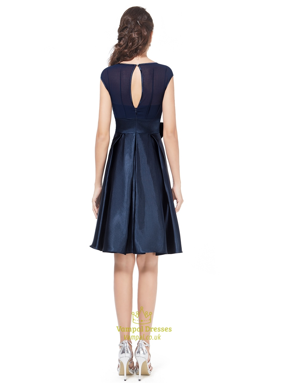 Shop navy cocktail dress at Neiman Marcus, where you will find free shipping on the latest in fashion from top designers.