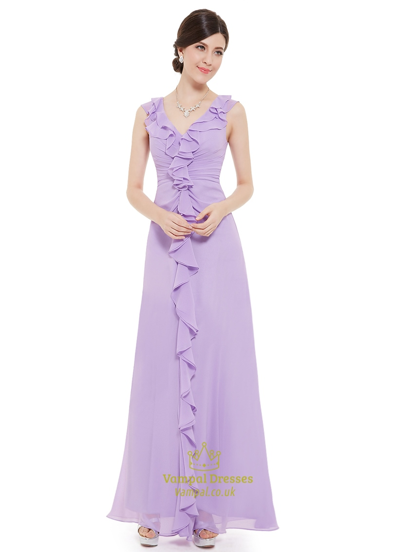 Lilac chiffon bridesmaid dresses uk wedding dresses asian for Plus size wedding dresses in wichita ks