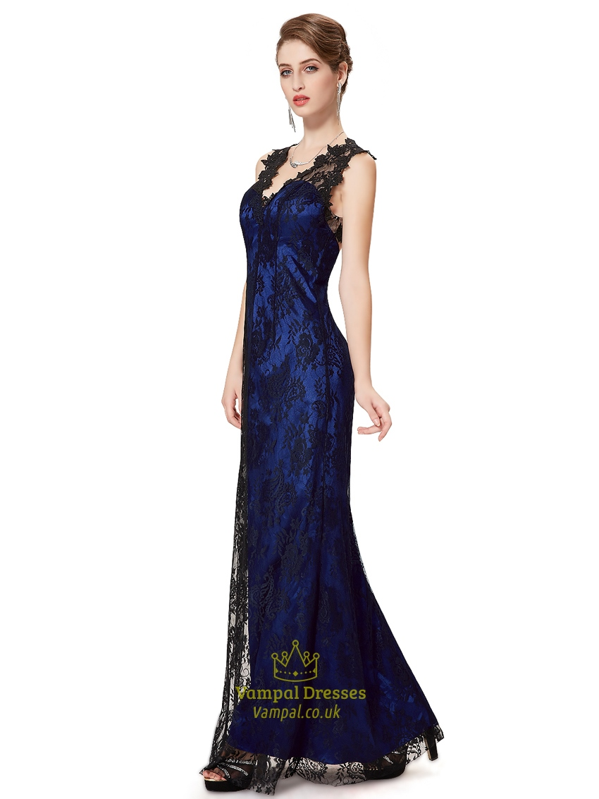 Look - Lace black overlay bridesmaid dresses video