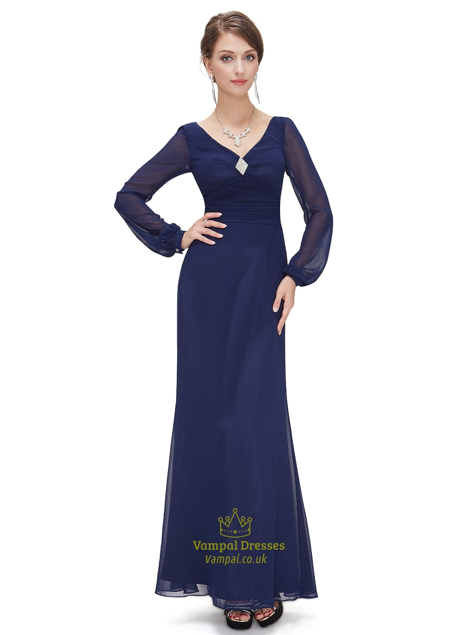 Chiffon Mother Of The Bride Dresses Uk 24