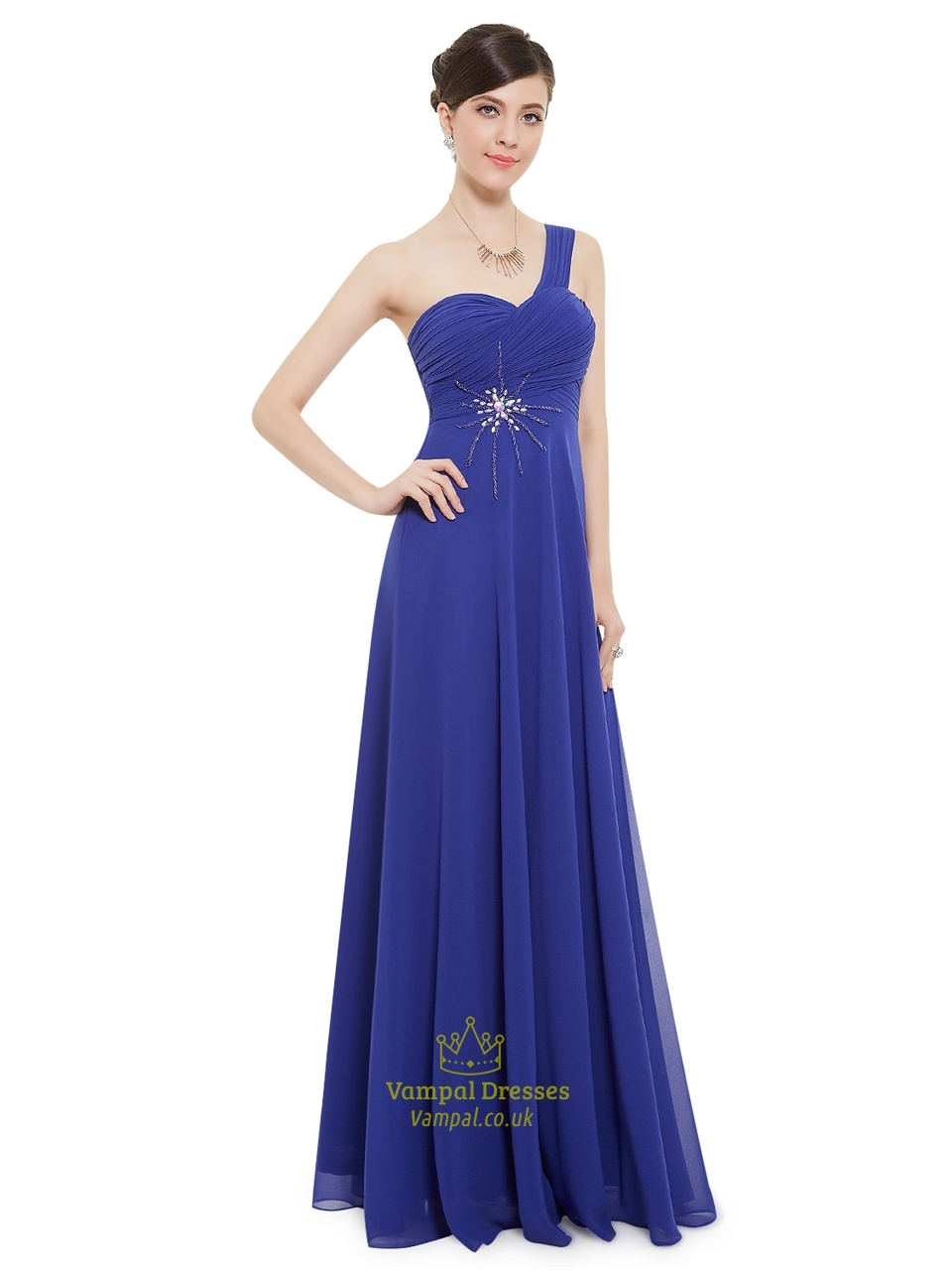 Bridesmaid dresses blue long junoir bridesmaid dresses for Long blue dress for wedding