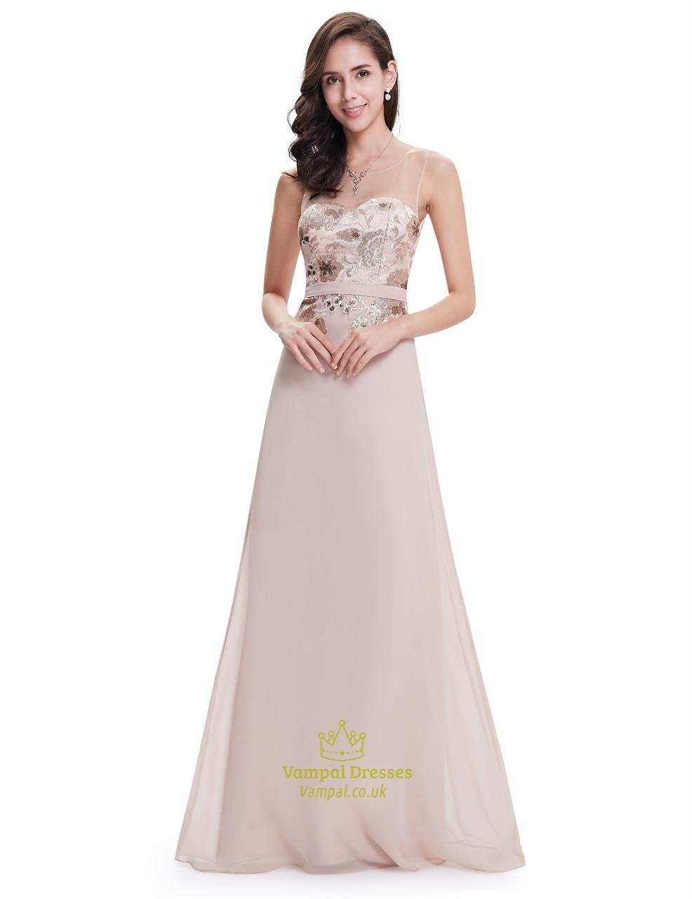 Pastel Pink Prom Dress