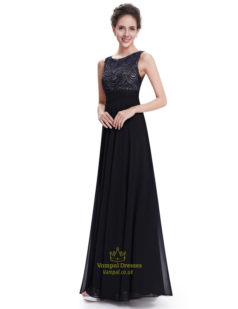 elegant black prom dresses - photo #19