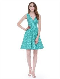 f17a8e4e52cf White Boat Neck Floral Sleeveless Skater Short Summer Dress With ...