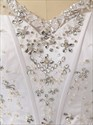 Crystal Beaded Corset Bodice Princess Ball Gown Wedding Dress