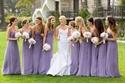Spaghetti Strap V Neck Ruched Bodice Chiffon Sleeveless Bridal Gown