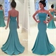 Strapless Lace Embellished Bodice Long Mermaid Maid Of Bridal Dress