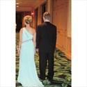 Baby Blue Beaded One Shoulder Side Split Long Chiffon Prom Dress