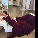 Burgundy Open Back Floor Length Mermaid Sleeveless Formal Dress