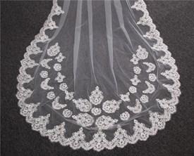 Lace applique trim bridal lace applique floral corded wedding