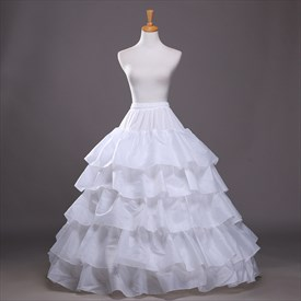 Women Taffeta/Polyester Floor-Length Ball Gown Petticoat