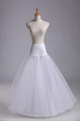 Women Tulle Netting Nylon/Lace Floor-Length Petticoat