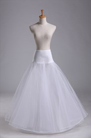 Women Tulle Netting Nylon/Lace Floor-Length Petticoat