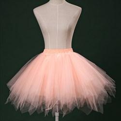 GirlsTulle Netting Short-Length A-Line Petticoat