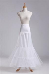 Women Tulle Netting Nylon Mermaid Floor Length Petticoat