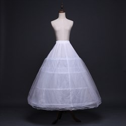 Women Tulle Netting Nylon/Polyester A-Line Ball Gown Petticoat