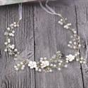 Exquisite Alloy Imitation Pearls & Rhinestones Headbands