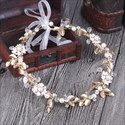 Gorgeous Rhinestone Imitation Pearls & Ribbon Headbands