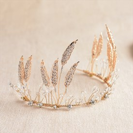 Exquisite Alloy Imitation Crystal & Rhinestone Tiaras