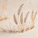 Exquisite Alloy Imitation Crystal & Rhinestone Tiaras