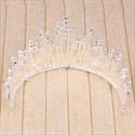 Chic Rhinestone Alloy Imitation Pearls Bridal Tiaras