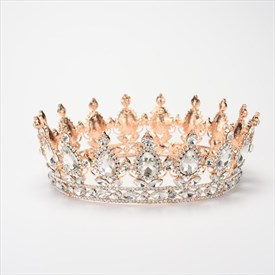 Luxurious Rhinestone Imitation Crystal Tiaras