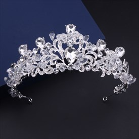 Magical Imitation Crystal Rhinestone Alloy Bridal Tiaras