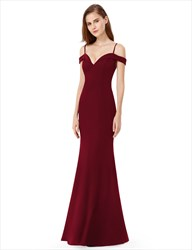 Elegant Long A Line Floor Length Chiffon Prom Dress With Straps