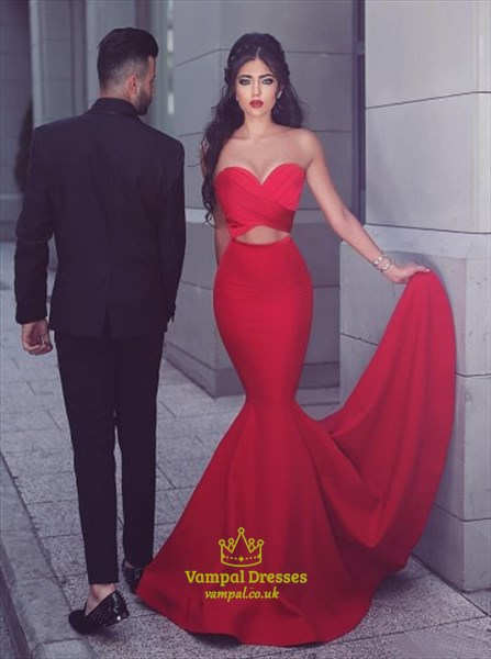 Sweeetheart Cut Full Length Prom Dress
